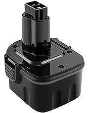 ADVTRONICS 12 V 3,0 Ah Ni-MH-batteri kompatibelt med Dewalt DC9071 DE9072 DE9074 DE9501 DW9071 DE9037 DE9072 152250-27 397745-01