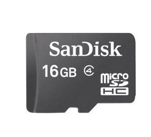 Sandisk Microsdhc Flash Memory Sdsdqm 016g