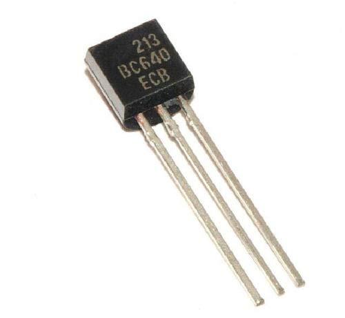 10 pcs BC640 TO-92 80V/1A PNP All/General Purpose Transistor