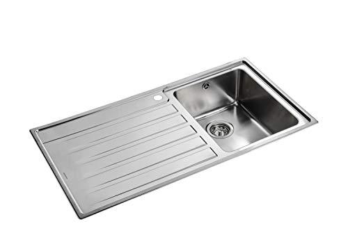 Rangemaster RK9851R/ Rockford Inset Sink, Stainless Steel