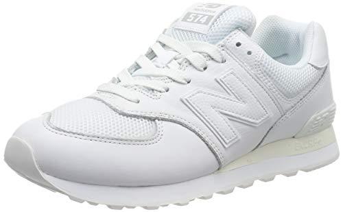 New Balance Men's Iconic 574 V2 Sneaker, White, 8.5 D US
