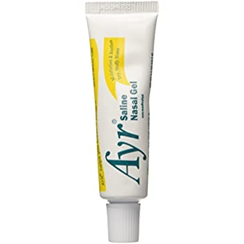 Amazoncom Ayr Saline Nasal Gel With Soothing Aloe 4 Count Health