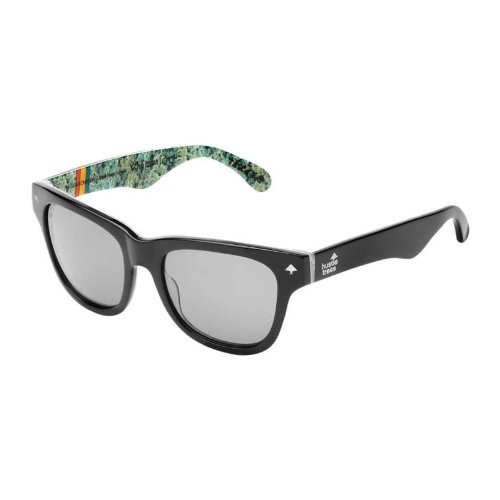 LRG Research Icon Adult Lifestyle Sunglasses/Eyewear - Black Wood/Green / One Size Fits All