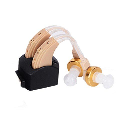 STTEFGB Digital Hearing Aid Behind The Ear Voice Amplifiers