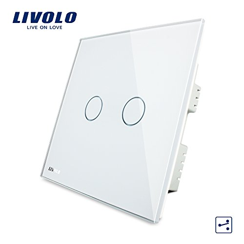 Livolo Intermediate Switch Touch Light Switch White With Led