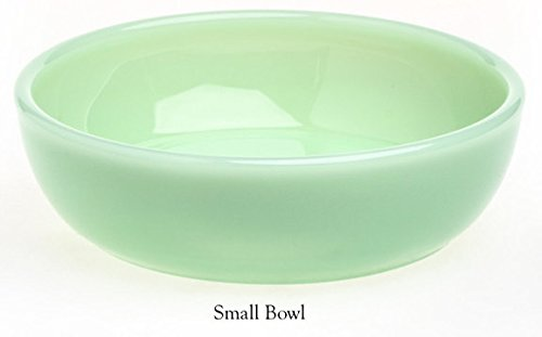 Plain & Simple Pattern - Multi Size Bowls - Jade Jadeite Jadite Green Glass - Mosser Glass - USA (Small)
