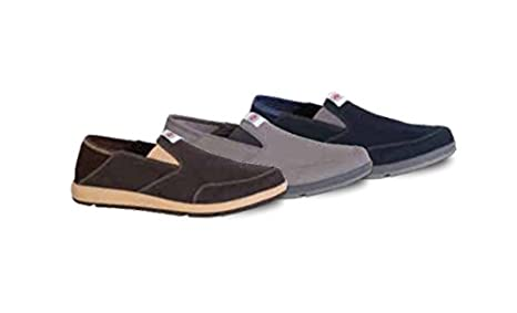 XMH-900 Men's Yellowtail Slip-On Shoes Brown