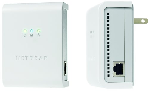 Netgear 85Mbps Powerline Network Adapter Kit - (Netgear Xe102 Wall)