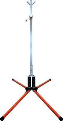 Dicke Safety Products STF18-RUB Twin Flex Sign Stands, 42'' Steel Legs with Roll-Up Bracket
