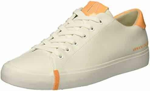 A|X Armani Exchange Women's Eco Leather Fashion Sneaker