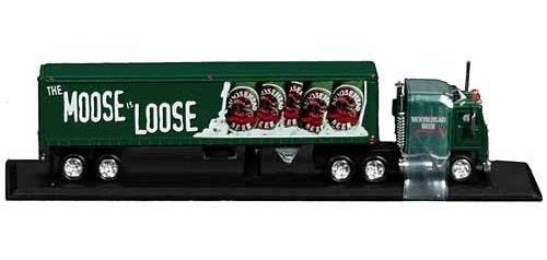 Matchbox Die Cast Moosehead Beer Kenworth Tractor Trailer Truck #30218 - Matchbox Tractor Trailer