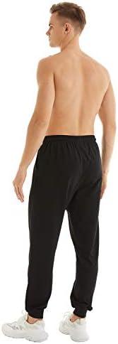 yuyangdpb Men's Athletic Joggers Pants Running Pants Cotton Sweatpants with Pockets 4