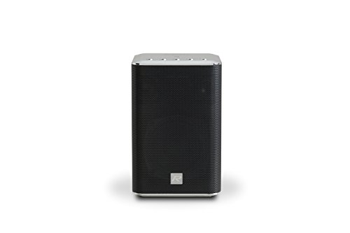 Roberts R-Line S1 Smart Wireless Speaker System - WiFi Connectivity App Control - Spotify Connect - Internet Radio - Bluetooth Connectivity - Multi-room Experience - Black