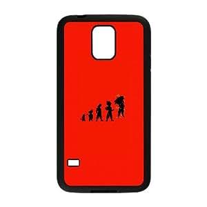 Samsung Galaxy S5 Cell Phone Case Black Goku Evolutions Udnjs