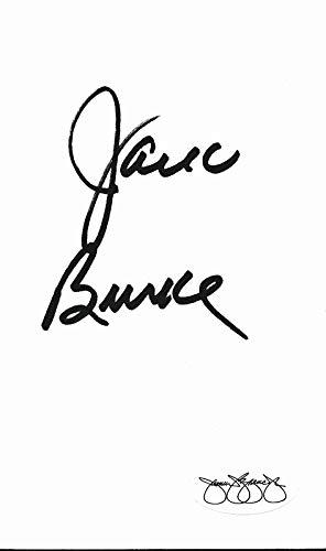 (Jack Burke 1956 PGA Masters Tournament Champ Signed 3x5 Index Card JSA 143780)