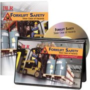 (Forklift Safety: Steer Clear of Hazards PowerPoint & Booklet Kit (CD-ROM) )