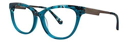 VERA WANG Eyeglasses V375 Teal 53MM