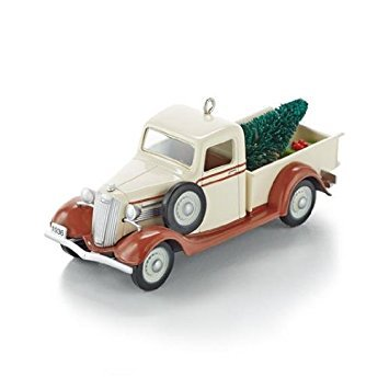 1936 GMC Pickup All-American Trucks #19 Series 2013 Hallmark Ornament