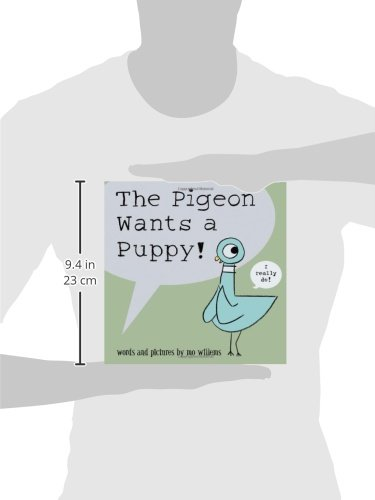 The Pigeon Wants a Puppy by Hyperion Books for Children (Image #2)
