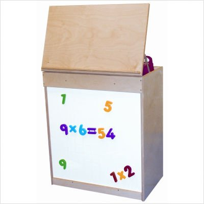 Wood Designs WD54100 Big Book Display with Magnetic Markerboard