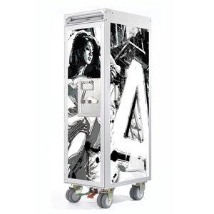 Skypak Flugzeugtrolley, La Prochaine Fois, Farbe: White