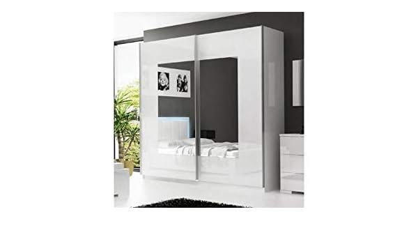mobilier nitro Armario ropero Blanca Amelia: Amazon.es: Hogar