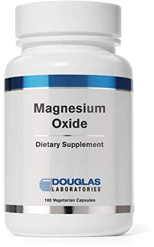 Douglas Laboratories - Magnesium Oxide - Supports Normal Heart Function and Bone Formation* - 100 Capsules - Magnesium Oxide Powder