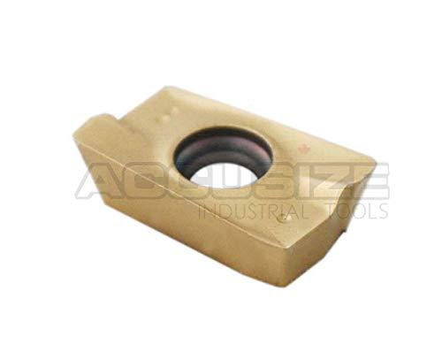 0056-1604x10 Accusize Industrial Tools 10 Pcs Carbide Inserts Apkt1604 Tin Coated