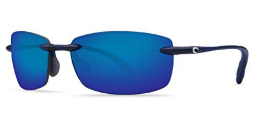 Costa Del Mar Ballast Sunglasses Matte Blue/Blue Mirror - Mar Costa Ballast Del