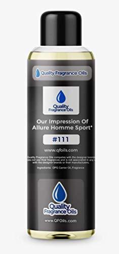(Quality Fragrance Oils' Impression of Allure Homme Sport (4oz))