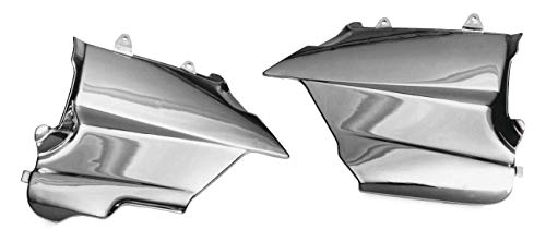 Show Chrome Side Covers - Show Chrome Lower Side Cover Gl1500 2-415 New