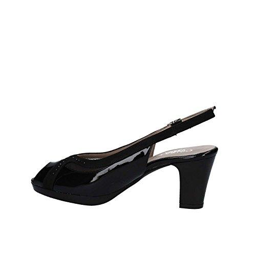 Cinzia Soft IAB311875 High Heeled Sandals Women Black JL16JsIlb