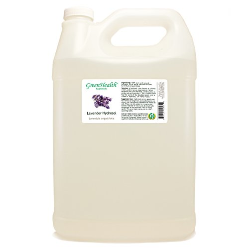 Lavender Hydrosol - 1 Gallon Plastic Jug w/ Cap - 100% pure, distilled from essential oil