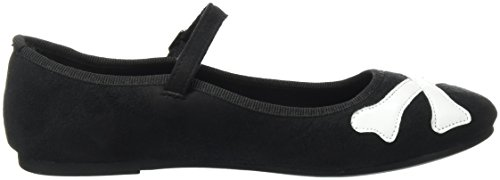 Iron Fist Women's Hey You Guys Chinese Slipper Platform Heels, Black, UK 5, UK 5 Black (Black)