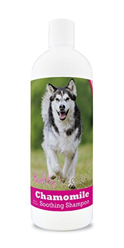 Alaskan Malamute Dog Breed - Healthy Breeds Chamomile Dog Shampoo & Conditioner with Oatmeal & Aloe for Alaskan Malamute  - OVER 200 BREEDS - 8 oz - Gentle for Dry Itchy Skin - Safe with Flea and Tick Topicals