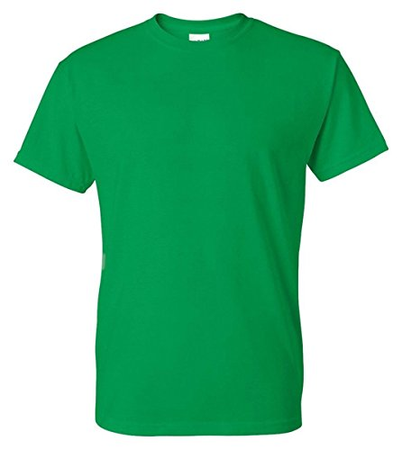Gildan Mens DryBlend 50 Cotton/50 Poly T-Shirt, 2XL, Irish Green