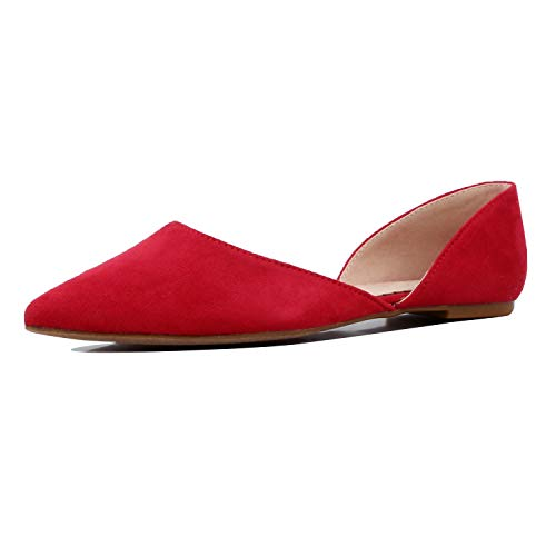 - Guilty Heart - Hedy 02 Red Suede, 8