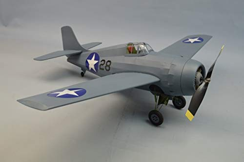 Dumas #0339 F4F Wildcat (30″ Wingspan) Model Airplane Kit – Laser Cut Wooden Parts