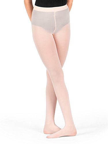 Girls Footed Tights with Smooth Self-Knit Waistband T5415CBPKS Ballet Pink Small
