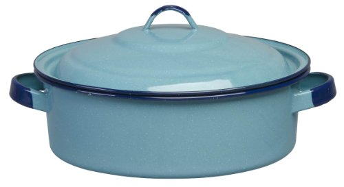 Cinsa 312124 Authentic Hispanic Dutch Oven with Lid, 5-Quart