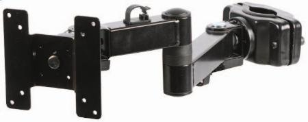 Bracket Pole Mount Double Arm