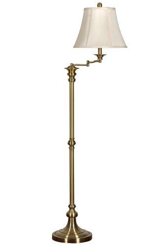 m Floor Lamp - Antique Brass ()