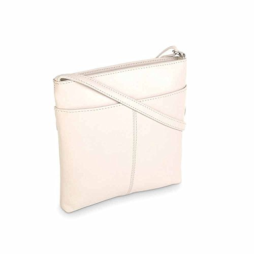 Ivory Medium Bag Crossbody Ziptop Tula HA1RfT