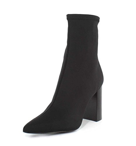 Jeffrey Campbell Womens Siren Black Neoprene Boot - 7.5 ()