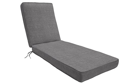 Chaise Cast - Eddie Bauer Home Chaise Double Piped 23