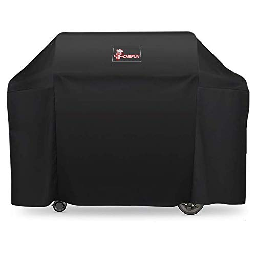 CHEFUN 7131 Grill Cover for Weber Genesis II 4 Burner Grill,65 Inch Grill Covers Heavy Duty Waterproof & Weather Resistant Outdoor Barbeque Grill Cover