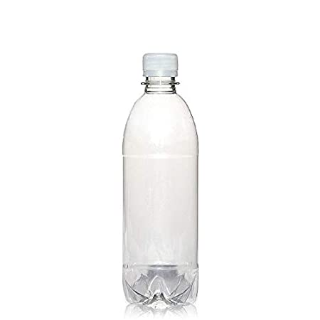 8 X 500ML HDPE BOTTLES/CONTAINERS WITH SCREWCAPS - FREE POSTAGE