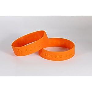 EKOTOLOGY Bottle Bands for 32oz Vesuvius and 21oz Kilimanjaro Stainless Steel Water Bottles (Orange)