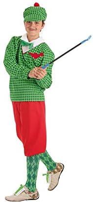 Disfraz de Jugador de Golf para niño: Amazon.es: Juguetes y juegos
