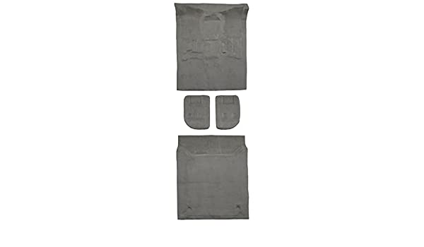 without Lid Covers Complete ACC 2002-2009 Chevy Trailblazer Carpet Replacement Cutpile Factory Fit w//o Heel Pad Complete Fits: 4DR